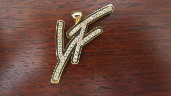 Young Fresh Diamond Hip Hop Necklace