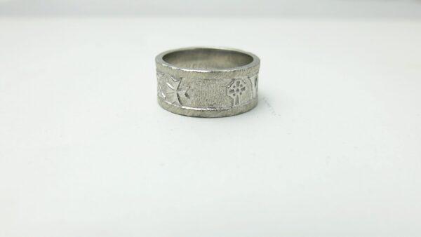 Roman Numeral Wedding Ring