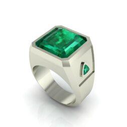 Jade Signet Ring