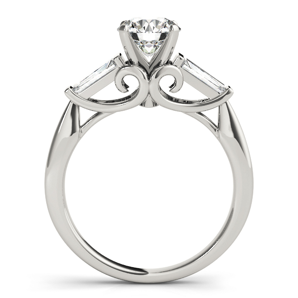 Vintage 3 Stone Engagement Ring
