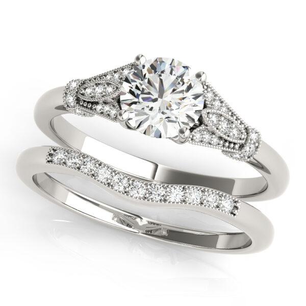 Ornate Engagement Ring
