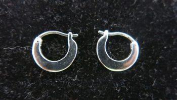 Diamond & Gemstone Hoop Earrings