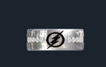 The Flash Wedding Rings
