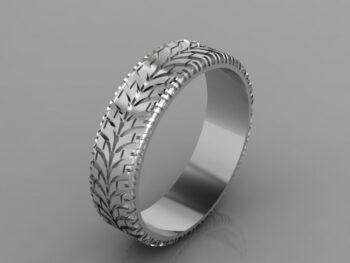 Custom Tire Tread Ring