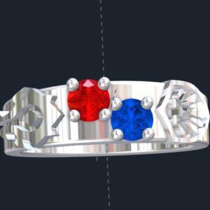 Horde Engagement Rings