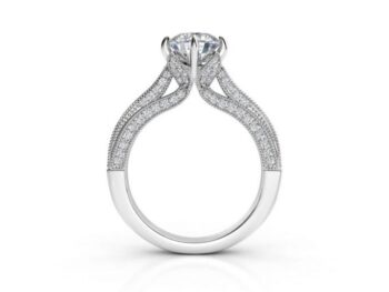 6 prong Engagement Rings