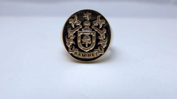 Custom Made Family Crest Rings