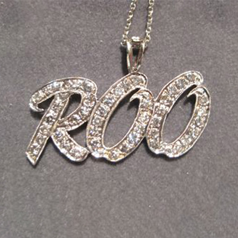 Custom Diamond Name Necklaces
