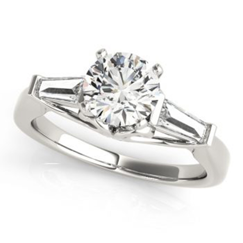 Vintage Three Stone Engagement Ring