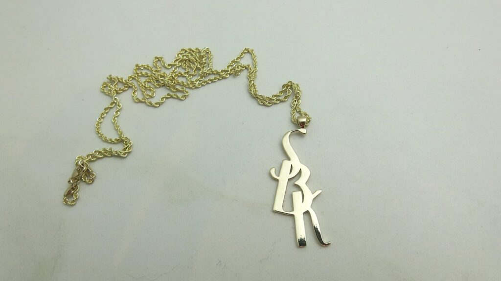Custom Monogram Necklaces