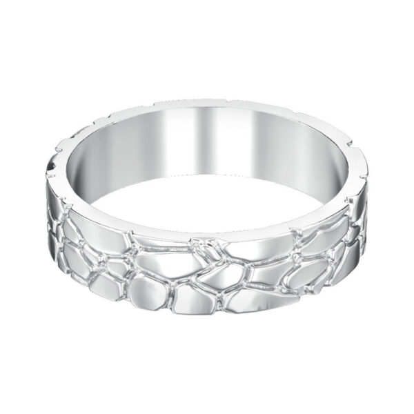 Gold Nugget Wedding Ring
