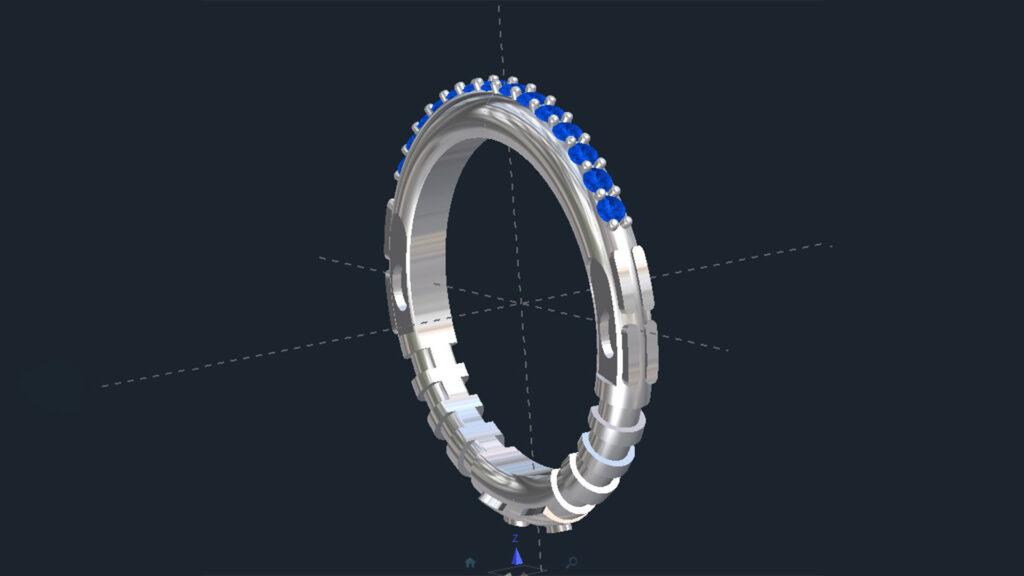 Star Wars Lightsaber Wedding Ring