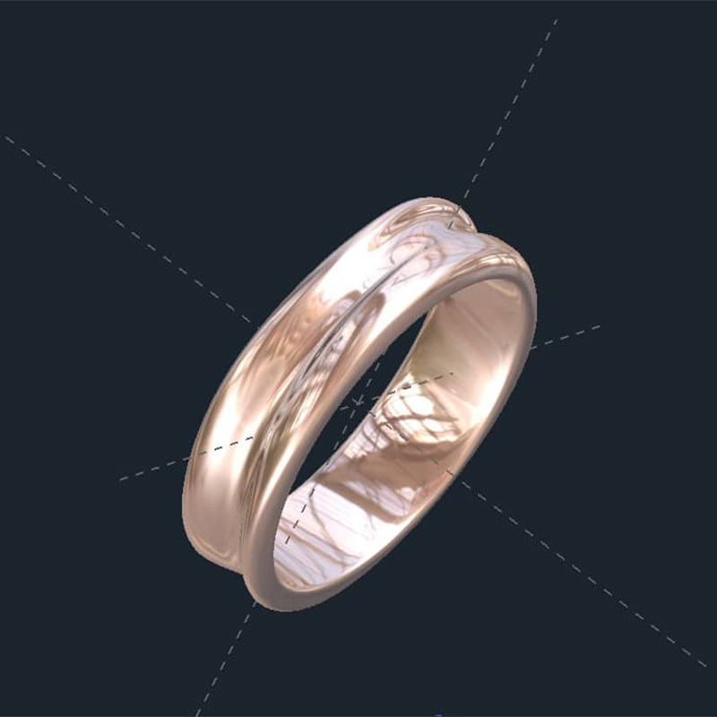 Unisex His and Hers Wedding Rings