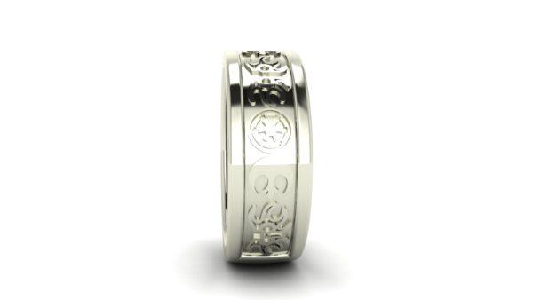 Jedi VS Empire Star Wars Wedding Ring