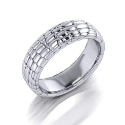 Snakeskin Wedding Ring