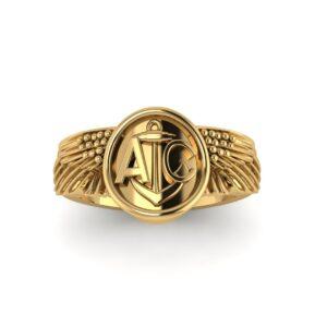 Naval Aviator Wings Ring