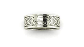 Superhero Inspired Wedding Rings