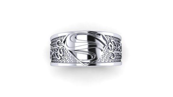 Kryptonian Superman Wedding Ring