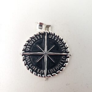 Binary Compass Pendant