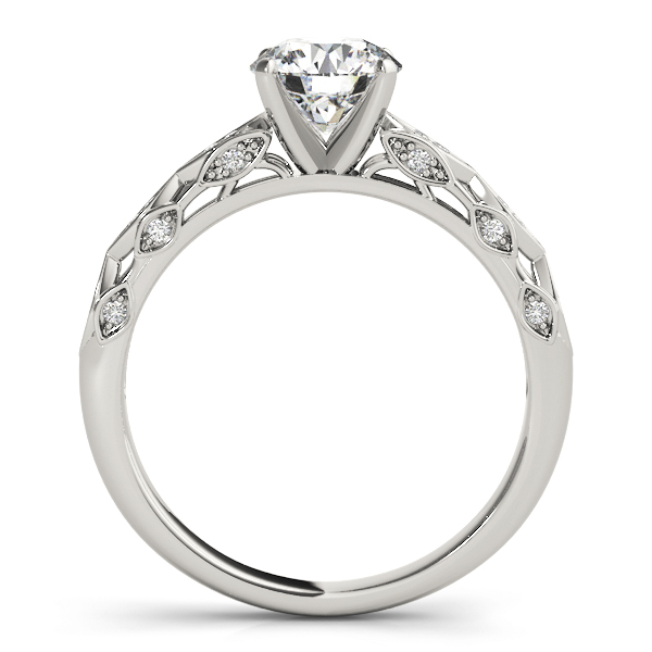 Modern Filigree Engagement Ring