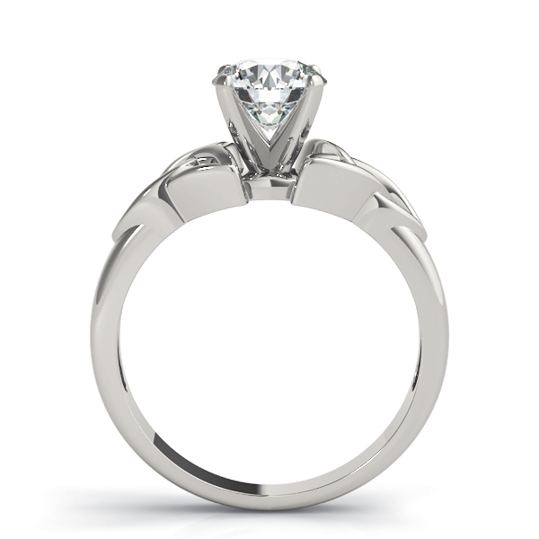 Celtic Solitaire Engagement Ring