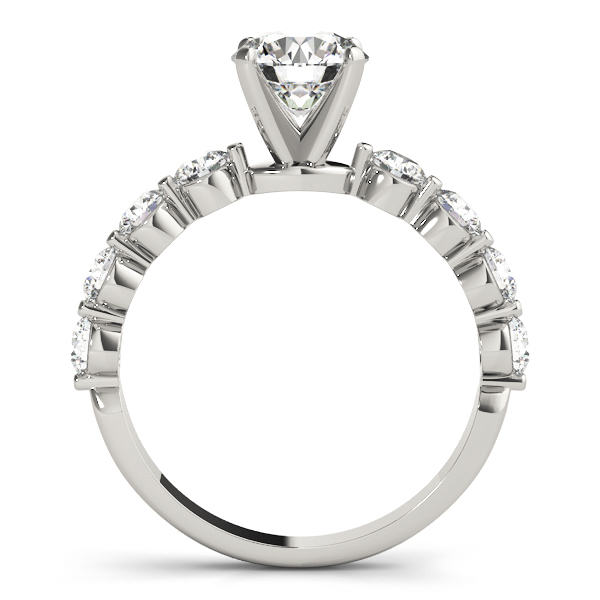 Low Profile Bezel Set Engagement Ring