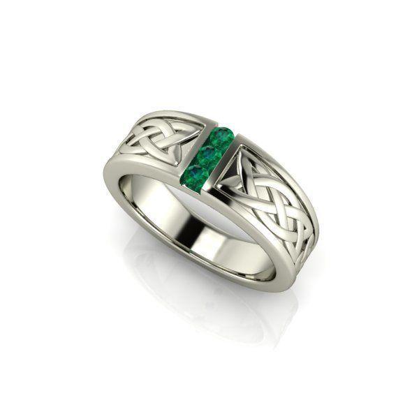 Unisex Celtic Wedding Ring