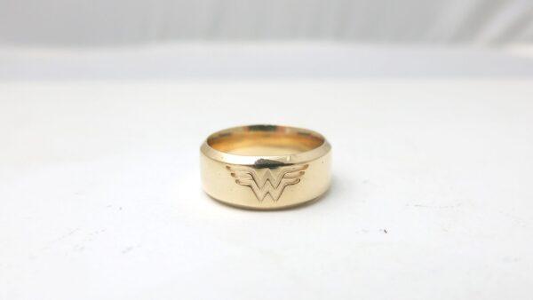 Wonder Woman Wedding Ring