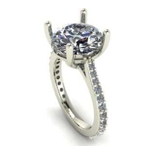Cathedral Set Engagement Ring