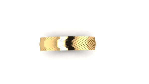 Herringbone Wedding Ring