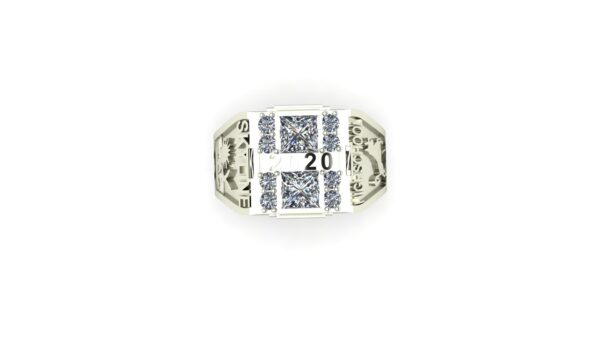 Square Class Ring