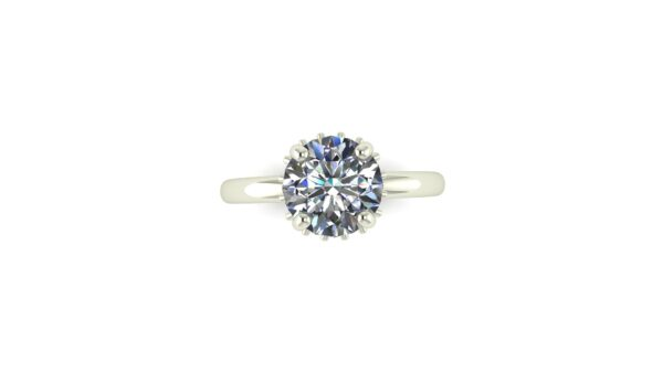 Diamond Belted Engagement Ring