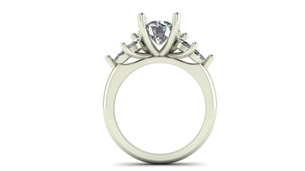 Marquise Cluster Engagement Ring