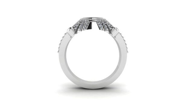 Peridot Signet Ring